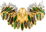 Alexis Bittar Embellished Parrot Cuff