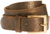 Black & Brown London Nadine Leather Slim Belt