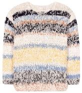 Chloé Cotton And Linen-blend Sweater