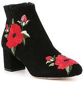 Kate Spade Langton Floral Embroiderd Booties