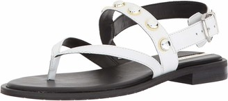 Kenneth Cole New York Women's Tama Stud Flat Thong Sandal with Backstrap