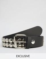 Reclaimed Vintage Studded Leather Belt
