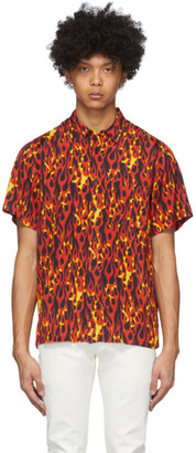 R 13 Red Flame Tony Shirt
