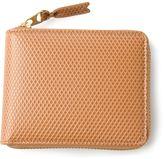Comme des Garcons textured zip around wallet