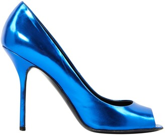 Pierre Hardy Navy Patent leather Heels