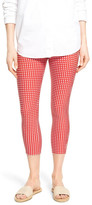 Hue Checkered Capri Legging