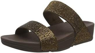FitFlop Women's Electra Micro Slide Open Toe Sandals,42 EU