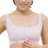 Smartstar Smarstar Fashion Maternity Women Seamless Stripe Soft Cup Nursing Bra Vest