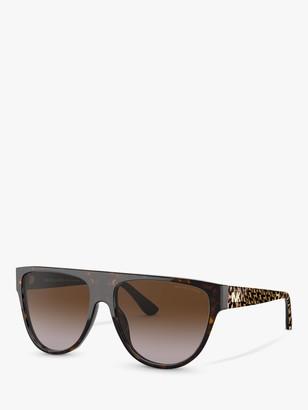 Michael Kors MK2111 D-Frame Logo Sunglasses