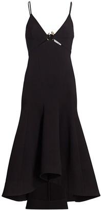 Acler Marine Strappy Cutout Midi Dress