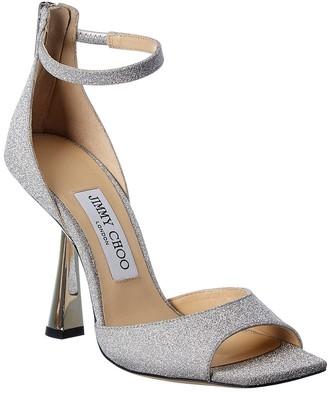 Jimmy Choo Reon 100 Glitter Sandal