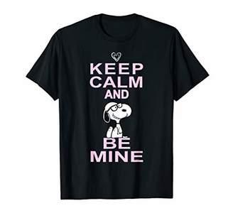 Peanuts Valentine Be Mine Stacked T-shirt
