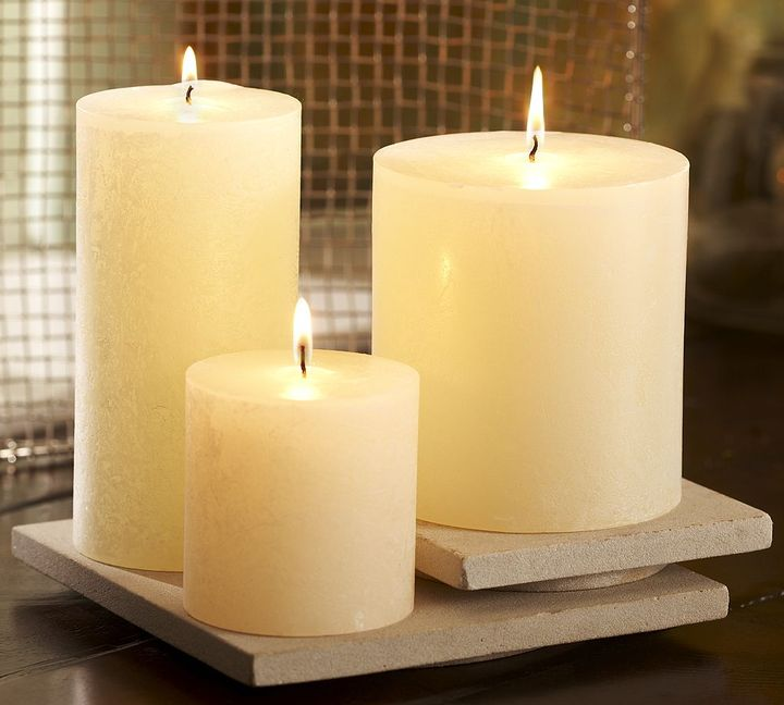 Pottery Barn Timber Scented Candle