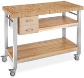 Williams-Sonoma Williams Sonoma John Boos End-Grain Butcher Block Culinary Cart, 48""