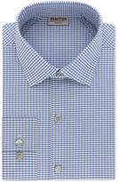 Kenneth Cole Reaction Men's Slim-Fit Techni-Cole Performance Blue Check Dress Shirt