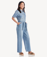 Sole Society Sanctuary Denim Women's In Color: Shallows Jumpsuit Size Large From