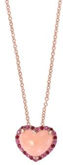 Effy Multi-Gemstone (2-3/8 ct. t.w.) Pendant in 14k Rose Gold