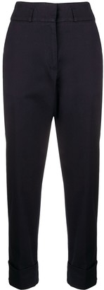 Peserico High-Rise Tailored Trousers