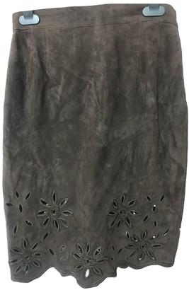 Ungaro Brown Velvet Skirts