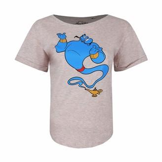 Disney Women's Aladdin Genie LAMP T-Shirt