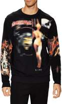 Givenchy Men's Printed Crewneck Sweatshirt