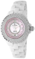 Le Château Women's 5805LCZ_PNK_MOP All Ceramic with Zirconia Condezza LC Collection Watch