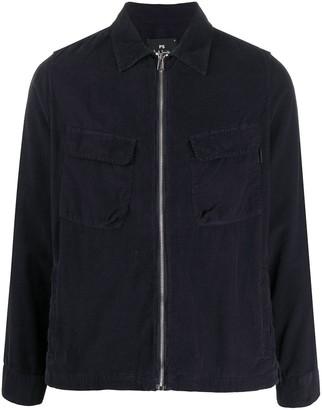 Paul Smith Corduroy Zip-Up Shirt Jacket