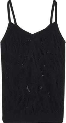 Nina Ricci Distressed Cotton Camisole