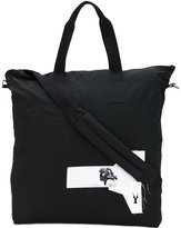 Rick Owens patches shopping bag - unisex - Cotton/Nylon - One Size