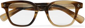 Garrett Leight California Optical Naples Square-Frame Acetate Optical Glasses