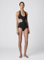 Proenza Schouler Halter Neck Cut Out Swimsuit