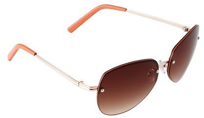 LOFT Tropical Rimless Sunglasses