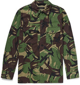 Rag & Bone Heath Camouflage-Print Cotton-Blend Shirt Jacket