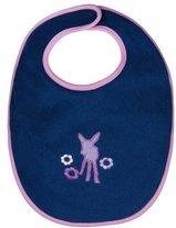 Lassig Water Repellent Bibs for Toddlers, Viola Deer, 12 Inch by