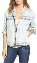 Current/Elliott Women's The Boyfriend Denim Trucker Jacket