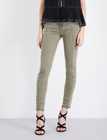 Paige Roxxi Ankle skinny mid-rise jeans