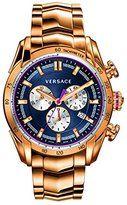 Versace Men's VDB060015 V-Ray Rose Gold Ion-Plated Stainless Steel Watch
