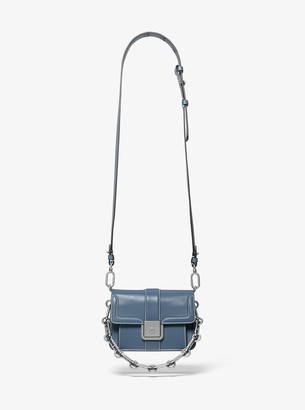 Michael Kors Crawford Mini Leather Crossbody Bag