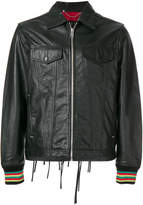 Diesel Whatever leather jacket