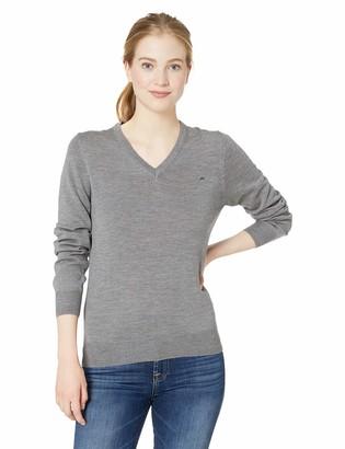 J. Lindeberg Women's V-Neck Merino Wool Sweater