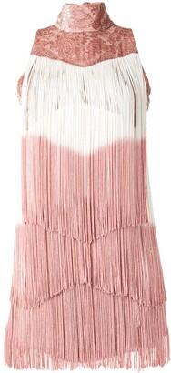 Alexis Mayla fringed mini dress