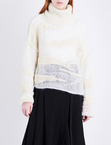 Isabel Benenato Turtleneck textured yak