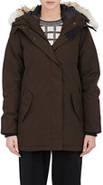 Canada Goose Women's Cannington Tech-Fabric Down Parka-BROWN