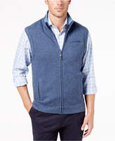 Tasso Elba Men's Herringbone Full-Zip Vest, Created for Macy's