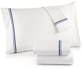 Hotel Collection 525 Thread Count Egyptian Cotton Embroidered Queen Sheet Set