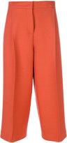 Fendi - pantalon palazzo crop