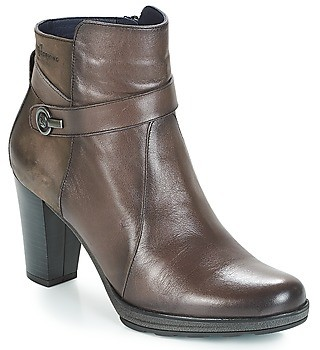 Dorking REINA women's Low Ankle Boots in Grey