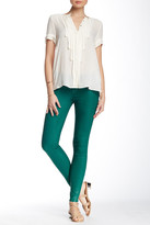 J Brand Low Rise Super Skinny Coated Pant