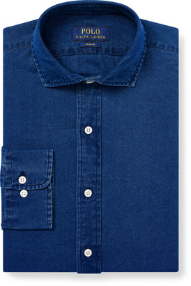 Ralph Lauren Slim Fit Indigo Twill Shirt
