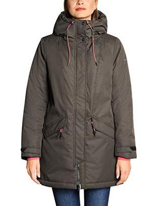Street One Women's 1399 Parka, (Black 10001), (Size:38)